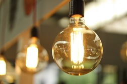 Employee engagement ideas image of a lightbulb